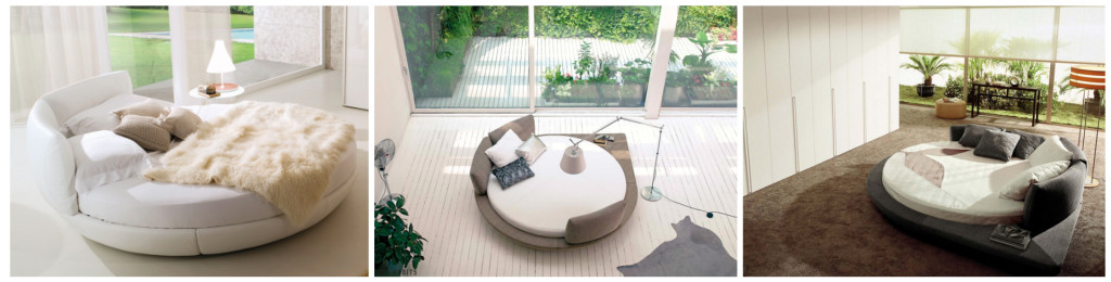 9 rond design bed