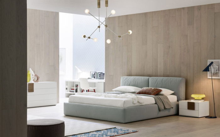 design bedombouw in stof (Bed Habits)