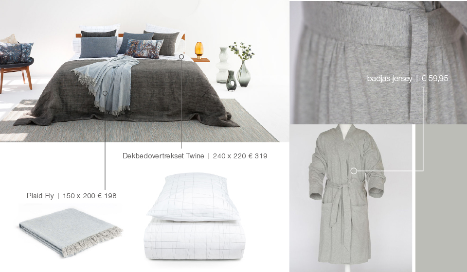 dekbedovertrek en badjas Bed Habits