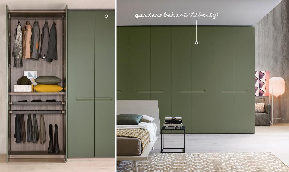 Design Kasten Slaapkamer : Interieurtrend groen in je slaapkamer slaapkamer design