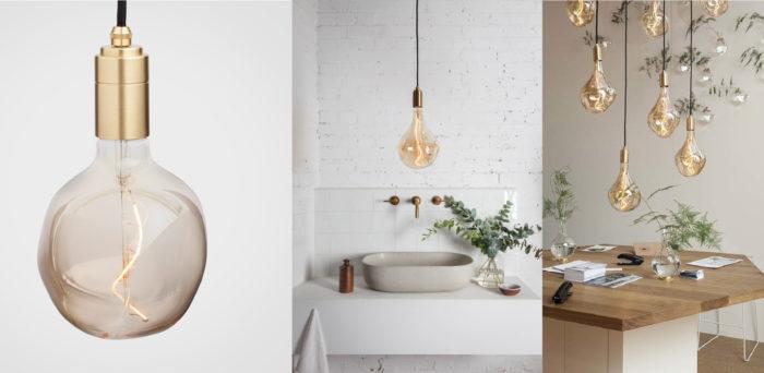 duurzame designlampen met messing fitting