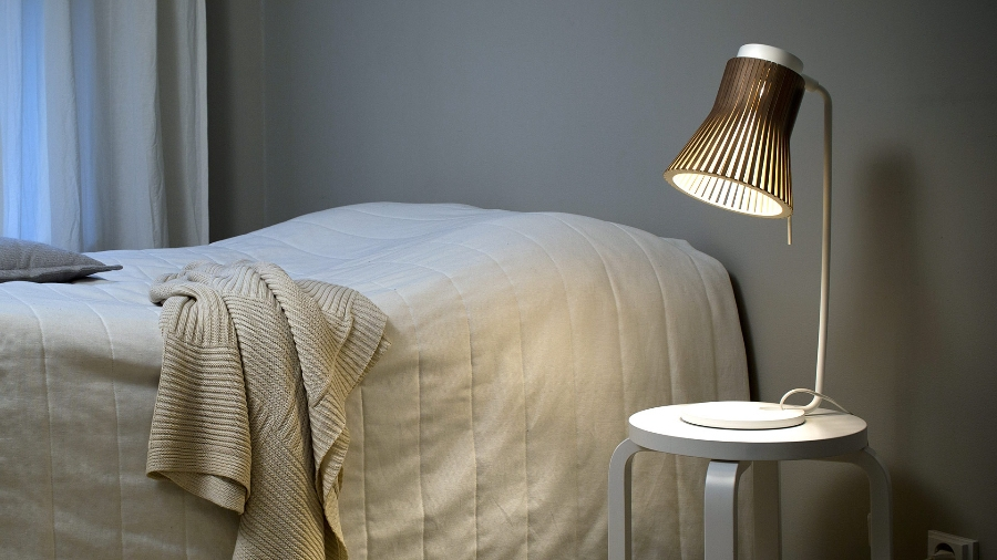 houten petite nachtlamp