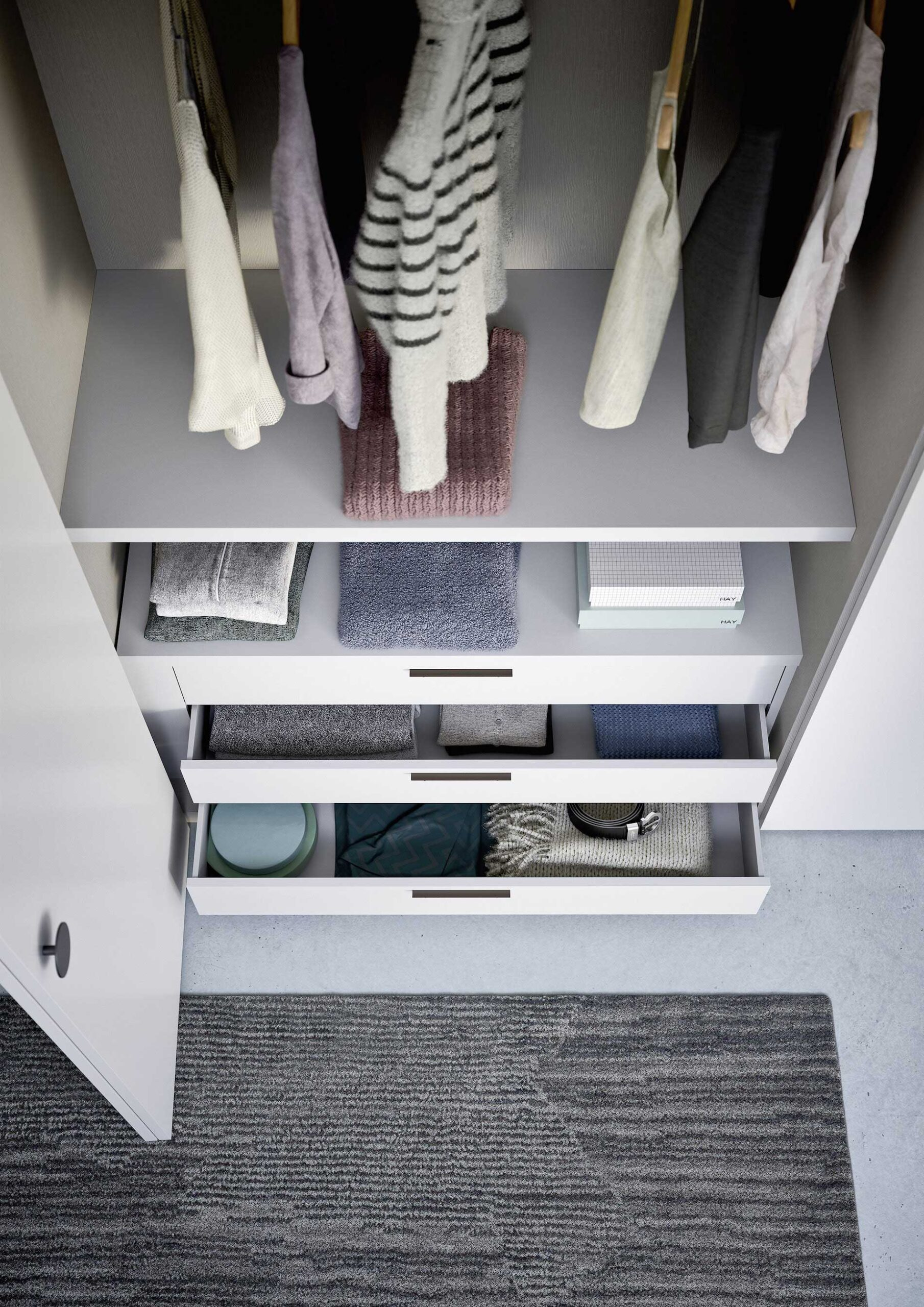 kledingkast alfa interieur